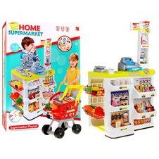 Supermarket Sklep Wózek Seledynowy
