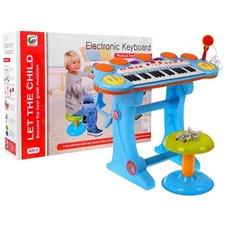 Keyboard Werble 3 Oktawy Niebieski