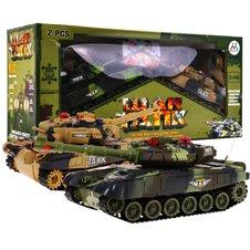 Valdomų tankų rinkinys RMZ Didysis tankų mūšis 2.4GHz