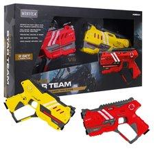 Pistolety Laserowe LASER TAG Czerwony Żółty