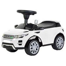 Paspiriamoji Mašina Eko žaislas Land Rover Balta
