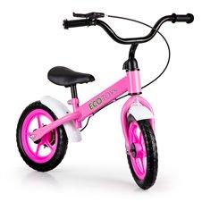 Rowerek biegowy z hamulcem jeździk dla dzieci ECOTOYS