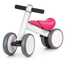 Paspiriamas dviratukas Eko žaislas Ride Rožinis