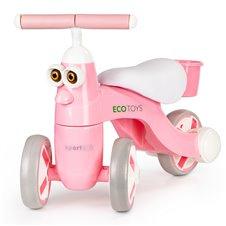 Vaikiškas dviratukas Eko žaislas su muzika ir LED