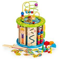 Medinis edukacinis Eko žaislas Pagauk žuvytę