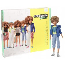 Lėlė Barbie Kūrybiškumo rinkinys GGG56 WB1