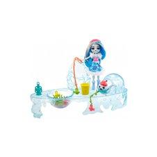 Enchantimals Mattel rinkinys Ledinė žvejyba GJX48 WB6