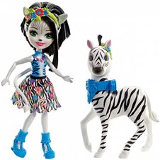 Lėlė Enchantimals su dideliu zebru FKY75 WB6