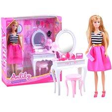 Lėlė Anlily Kosmetinis staliukas  ZA3486