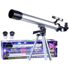 LUNETA Teleskop na statywie zoom 60x 100x ES0023