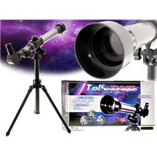 Teleskopas Luneta ant trikojo su 3x okuliaru ES0009