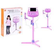 Vaikiškas mikrofonas su karaoke ir stovu Jokomi  IN0111
