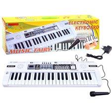 Mini klavišiniai vargonai MQ-4403 su mikrofonu IN0123