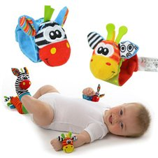 Barškutis-apyrankė vaiko rankai arba kojai