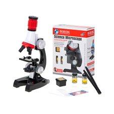 Vaikiškas mikroskopas su priedais