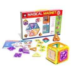 Magnetinių kaladėlių rinkinys Magical Magnet 20 dalių