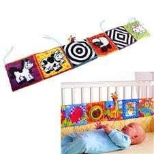 Mata Edukacyjna ochronna dla niemowl? t na łóżeczko