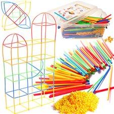 Šiaudelių konstruktorius vaikams BOX 680 elm.