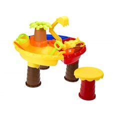 Stolik wodny piaskownica Palma 35x45cm stołek 22el