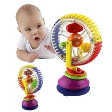 Žaislinis malūnas su siurbtuku kūdikiams