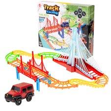 Automobilių trasa Track Racing su automobiliu 140el.