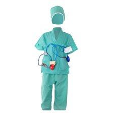 Vaikiškas Chirurgo karnavalinis kostiumas