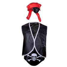 Karnavalinis pirato kostiumas su aksesuarais