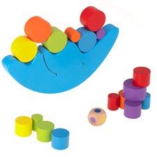Medinis balansinis Montessori žaidimas Mėnulis
