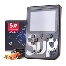 Game Box konsolė su 400 žaidimų Juoda