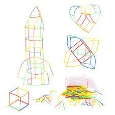 Šiaudelių konstruktorius vaikams BOX 700 elm.