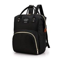 Plecak torba mamy do wózka organizer 3w1 czarny