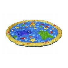 Vandens kilimėlis - baseinas kūdikiams su fontanu 100cm