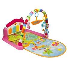 Mata Edukacyjna dla dzieci pianinko 4w1 różowa