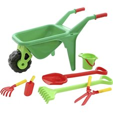 Vaikiškas sodo rinkinys WADER Karutis su priedais 41722