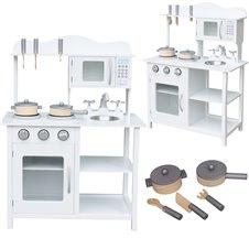 Vaikiška medinė virtuvėlė MDF 85cm