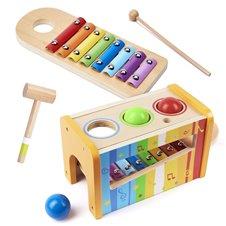 Muzikis žaislas ksilofonas Viga 2in1