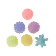 Piłki zabawki sensoryczne korekcyjne zest w siatce