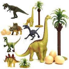 Dinozaury figurki zestaw 14el.