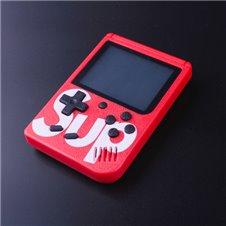 Nešiojama žaidimų konsolė 400 žaidimų Raudona