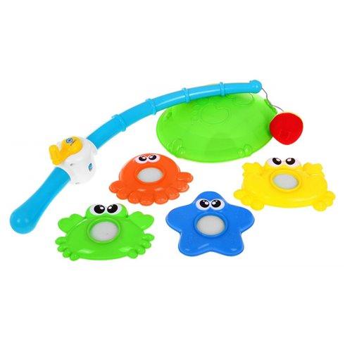 Interaktyvus žvejybos žaislas