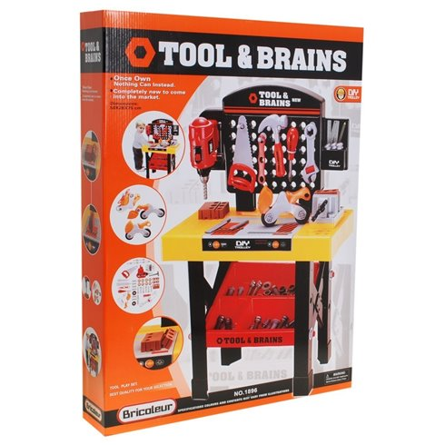 Žaislinis meistro stalas Tool - Brains