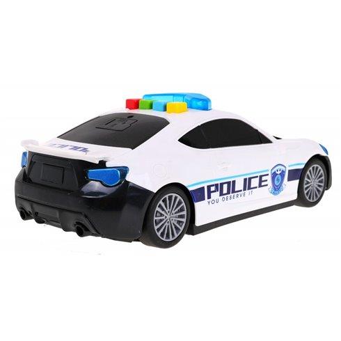 Žaislinis lankstomas policijos automobilis