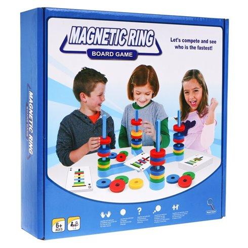 Magnetinių žiedų arkadinis žaidimas