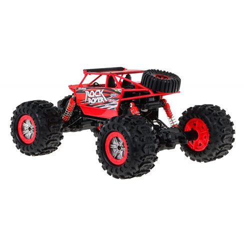 "1:12 Radijo bangomis valdomas automobilis ""Mega Crawler"", raudonas"