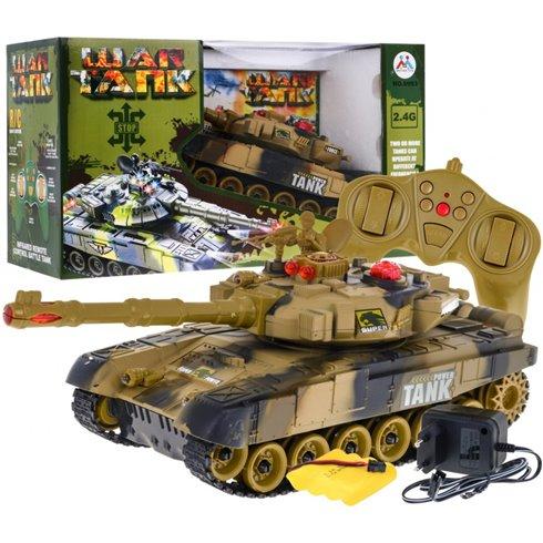 Valdomas tankas 2.4GHz