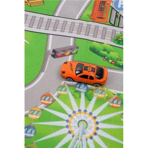 Žaidimų kilimėlis Saulės Vaikas Miestas 120x80 cm
