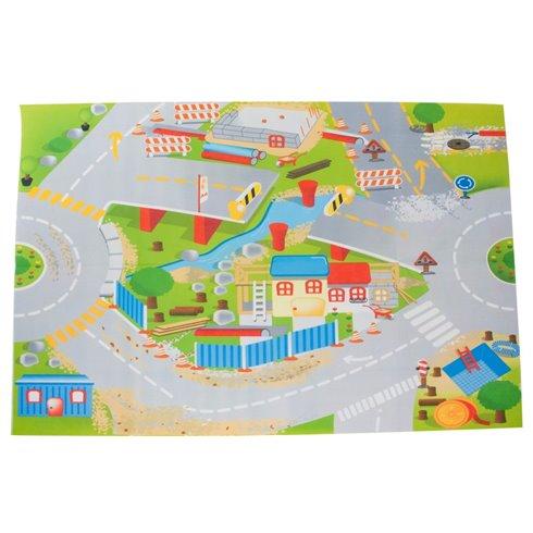 Žaidimų kilimėlis Saulės Vaikas Statybos 120x80 cm