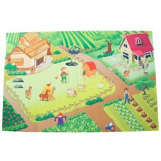 Žaidimų kilimėlis Saulės Vaikas Ferma 120x80 cm