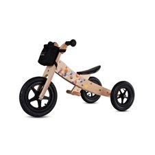 Saulės Vaikas Rowerek drewniany Twist Plus - Cubic Black Edition
