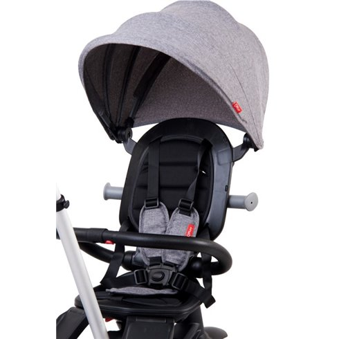 Triratukas su pasukama sėdyne Saulės Vaikas Compact Pilkas